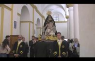 Algeciras acogió ayer el Vía Crucis del Cristo de la Caridad