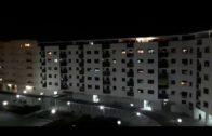 Algeciras se asoma a los balcones para agradecer la labor de los sanitarios