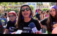 'Andaluzas levantaos', lema de Marea Violeta para el 8 de marzo