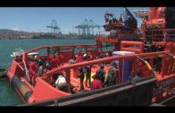 El número de migrantes rescatados se reduce en más de un 75% en Algeciras