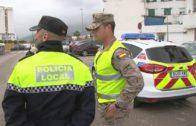 Infantería de Marina despliega patrullas en municipios de la Sierra, Tarifa y Algeciras