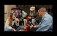La APDH denuncia la situación de las personas sin hogar en Algeciras