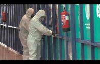 La UME se encuentra en Algeciras desinfectando zonas del puerto y otros lugares
