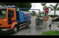 Algesa continúa con la limpieza y desinfección de calles y zonas públicas de Algeciras