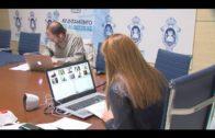 El ayuntamiento celebra la comisión de Hacienda por viedoconferencia