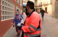 El Ayuntamiento de Algeciras entrega 10.000 mascarillas a asociaciones de vecinos