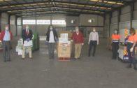 Castellana Properties y Puerta Europa donan 3.000 kilos de alimentos al Banco de Alimentos