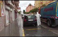 Continúan las labores de desinfección y limpieza en toda la ciudad