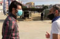 Vuelve el mercadillo a Algeciras después de dos meses