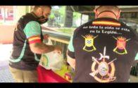 La Hermandad de Antiguos Caballeros Legionarios realiza su V recogida de alimentos para Cáritas