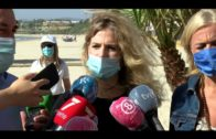 Mestre resalta en Algeciras el esfuerzo de la Junta para garantizar unas playas seguras este verano