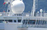 Un diagnosticado con Covid 19 permanece aislado en un  portacontenedores en el puerto de Algeciras