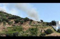 Controlado el incendio forestal de Algeciras tras calcinar 7,8 hectáreas de superficie