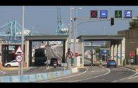 Homenaje de los transportistas al compañero fallecido en la salida del Acceso Norte del Puerto