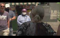 La Policía Local de Algeciras controla el uso obligatorio de la mascarilla