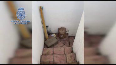 """Policía Nacional localiza una """"guardería"""" que almacenaba 350 kg de hachís en el Campo de Gibraltar"""