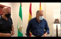 El alcalde despide al inspector jefe Pedro Ferrer que ha sido destinado a como comisario