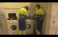 El Ayuntamiento construye nuevos vestuarios y zonas comunes para operarios de Emalgesa