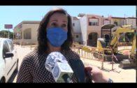El Ayuntamiento ultima las obras en acerados de Villa Blanca y Villa Rosa
