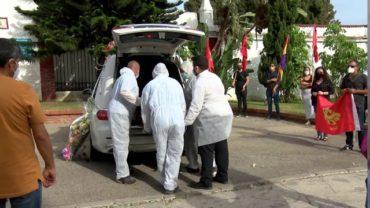 Cientos de personas dan su último adió a Andrés Castillo