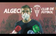 Edu Ubis, Álvaro Romero y Juan Serrano pusieron los goles para el Algeciras CF