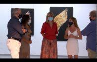 """Inaugurada  la exposición """"Alas"""" de Cristina Harrillo en Cajasur"""