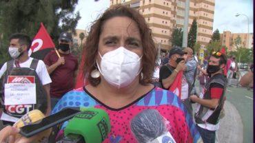 La plantilla de Phoenix se manifiesta en Algeciras contra el ERE presentado por Acerinox