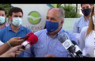 Landaluce muestra su apoyo a los guardias civiles heridos por el narcotráfico