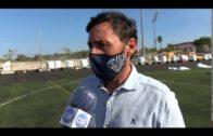 El Ayuntamiento sustituye el césped artificial del campo de fútbol Nº1 de la Menacha