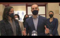 El alcalde recibe a  la Asociación Cultural León de Judá que trabaja con reclusos