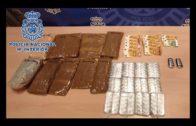 La Policía Nacional se incauta de más de 30.000 pastillas de MDMA en un control en La Piñera