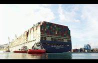 Llega a TTIA el buque más grande propulsado por Gas Natural Licuado