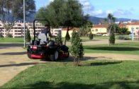 Presentada la nueva maquinaria destinada a Parques y Jardines