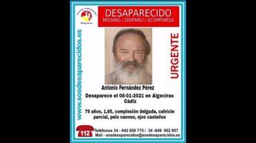Buscan a un anciano desaparecido en Algeciras desde el pasado 8 de enero