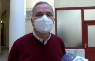 El alcalde informa a los portavoces de la situación sanitaria en Algeciras