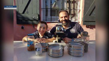 La astronomia escolar algecireña triunfa en Europa