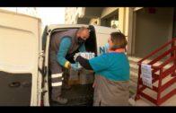El Grupo Social ONCE hace su segunda entrega de 443 kilos de alimentos contra la pandemia