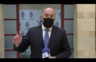 El alcalde pide no bajar la guardia ante el Covid por el pase de la ciudad a nivel 2