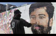 El Ayuntamiento dedica un mural a todos los colectivos que luchan contra el coronavirus