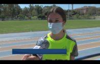 Marina Delgado una joven Campeona de España a los 14 años