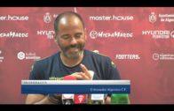 Ballesta se quita el sombreo ante la afición del Algeciras CF