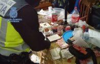 Detenidos tres miembros de una organización que abastecía a puntos de venta de cocaína en la comarca