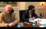 Landaluce conoce al nuevo director del Centro de Menores La Marchenilla