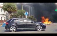 Altercados y ataques a vehículos policiales tras la muerte de dos personas en La Línea