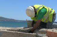 APBA finaliza los trabajos de recalce del búnker en la playa del Rinconcillo