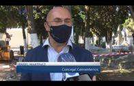 El Ayuntamiento ejecuta obras de mejora en el cementerio antiguo