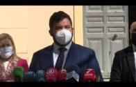 El delegado de Justicia visita la Audiencia en Algeciras para abordar del Plan de Reactivación