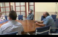 Pelayo y Solanes se reúnen con la Asociación de Comerciantes Ambulantes «Fénix»