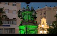 Algeciras se suma al Día Mundial contra la ELA iluminando de verde algunos lugares emblemáticos