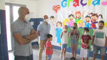 El CEIP Parque del Estrecho homenajea a todos los sectores que combaten la pandemia